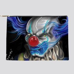 blue haired clown Makeup Pouch