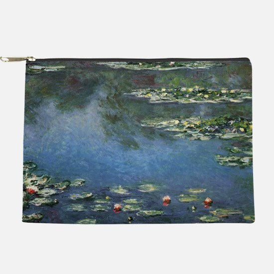 Waterlilies by Claude Monet Makeup Pouch
