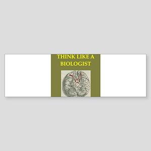 biologist Sticker (Bumper)