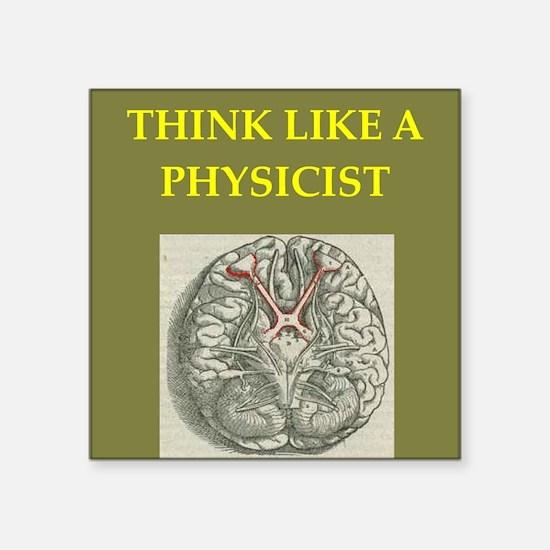 "physics Square Sticker 3"" x 3"""