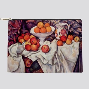 Still Life with Apples and Oranges Makeup Pouch