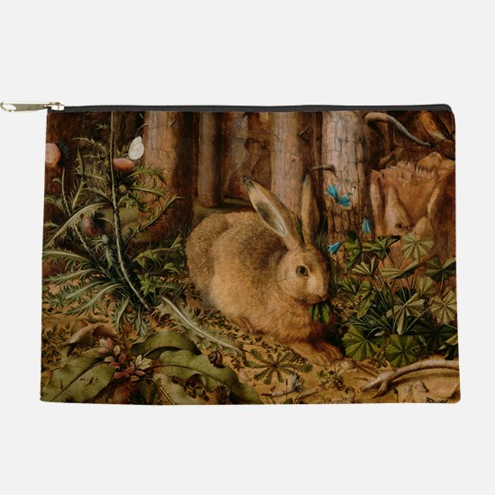 Hare In The Forest Makeup Pouch