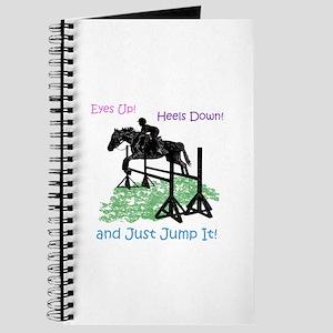 Fun Hunter/Jumper Equestrian Horse Journal