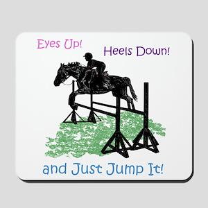 Fun Hunter/Jumper Equestrian Horse Mousepad