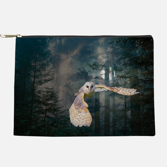 owl at midnight Makeup Pouch