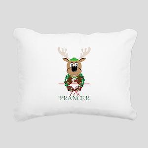 Prancer Rectangular Canvas Pillow
