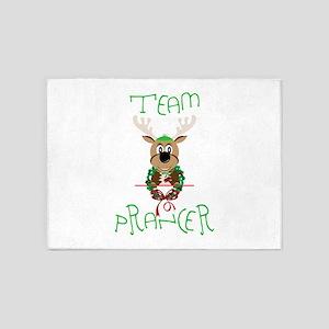 Team Prancer 5'x7'Area Rug