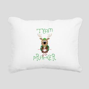 Team Prancer Rectangular Canvas Pillow