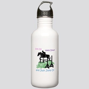 Fun Hunter/Jumper Eque Stainless Water Bottle 1.0L