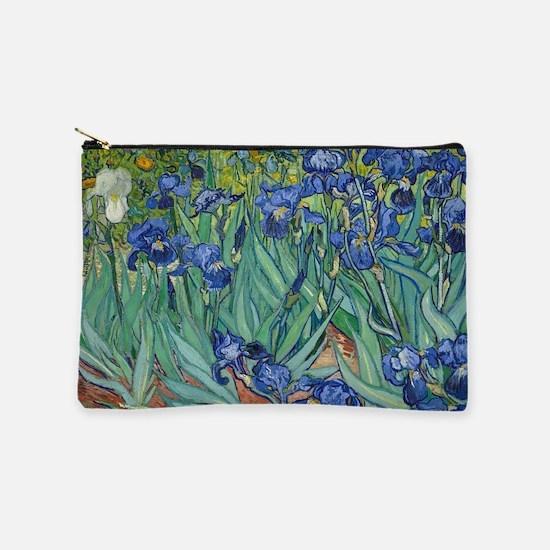 Irises by Vincent Van Gogh Makeup Pouch