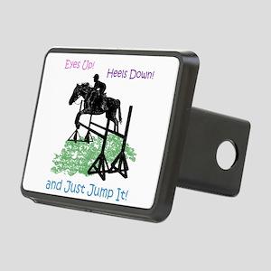 Fun Hunter/Jumper Equestri Rectangular Hitch Cover
