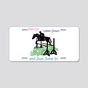Fun Hunter/Jumper Equestria Aluminum License Plate