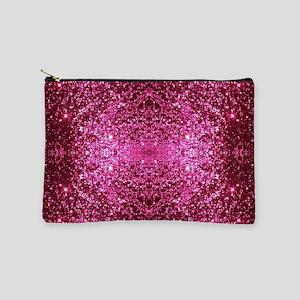 pink glitter Makeup Pouch