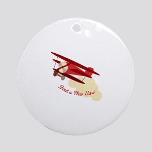 A New View Ornament (Round)