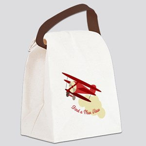 A New View Canvas Lunch Bag