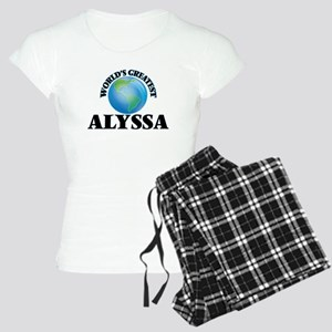 World's Greatest Alyssa Women's Light Pajamas