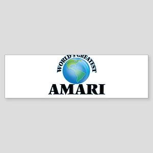 World's Greatest Amari Bumper Sticker