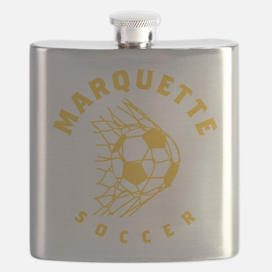 Marquette Golden Eagles Soccer Flask