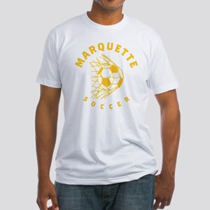 Marquette Golden Eagles Soccer Fitted T-Shirt