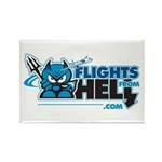 Flights From Hell Rectangle Magnet