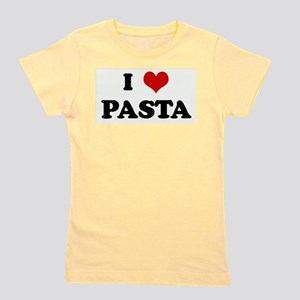 I Love PASTA Ash Grey T-Shirt