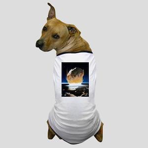 asteroid strike Dog T-Shirt