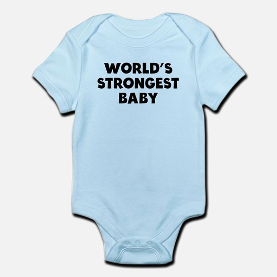 Worlds Strongest Baby Body Suit