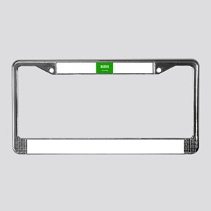 saudi arabia flag License Plate Frame