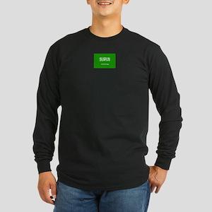 saudi arabia flag Long Sleeve Dark T-Shirt
