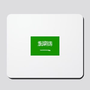 saudi arabia flag Mousepad