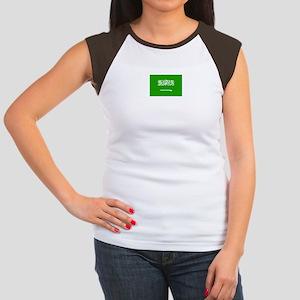 saudi arabia flag Women's Cap Sleeve T-Shirt