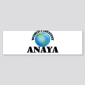 World's Greatest Anaya Bumper Sticker
