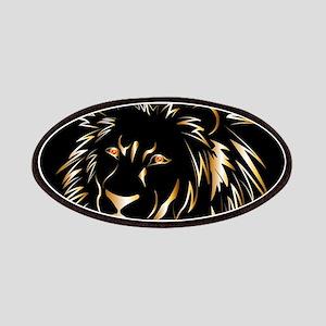 Golden lion Patches