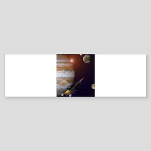jupiter orbiter Sticker (Bumper)