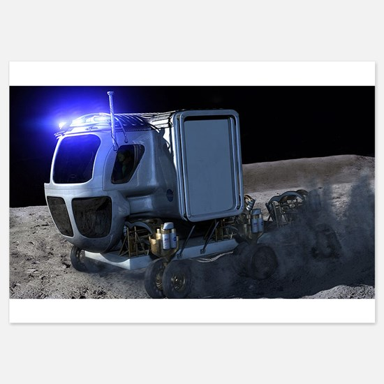 lunar rover Invitations