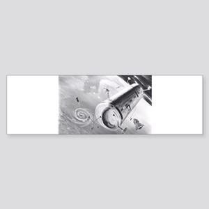orbiting lab Sticker (Bumper)