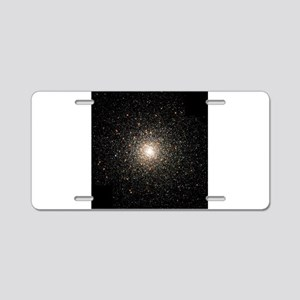 nebula Aluminum License Plate