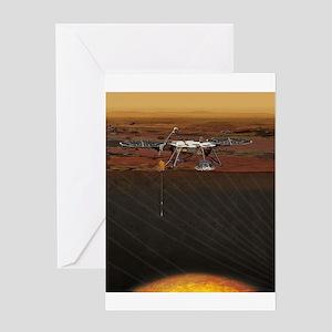 insight lander Greeting Card