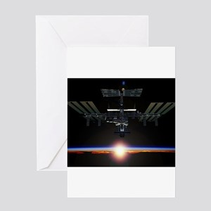 iss Greeting Card