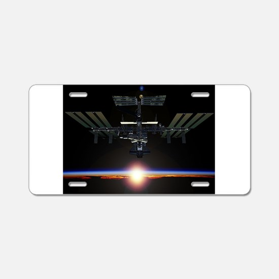 iss Aluminum License Plate