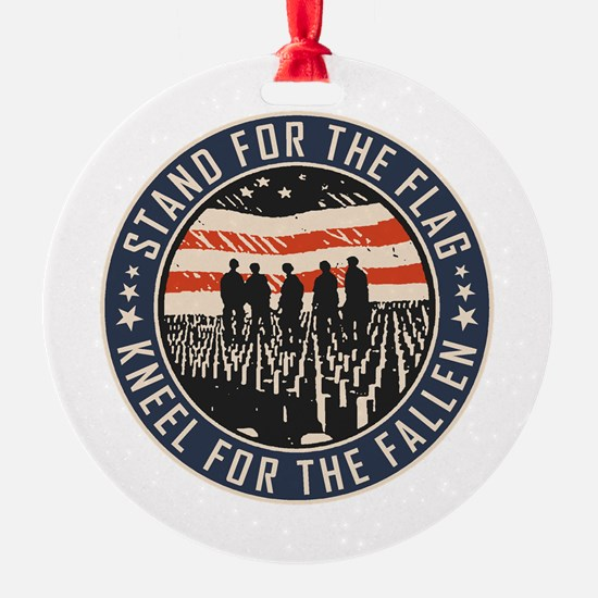 Stand For The Flag Ornament