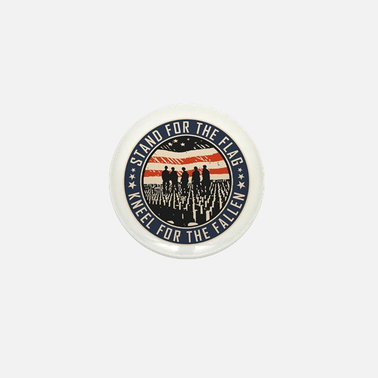 Stand For The Flag Mini Button
