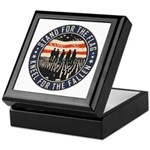 Stand For The Flag Keepsake Box
