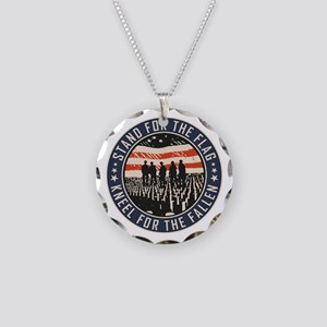 Stand For The Flag Necklace