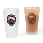 Stand For The Flag Drinking Glass