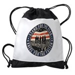 Stand For The Flag Drawstring Bag