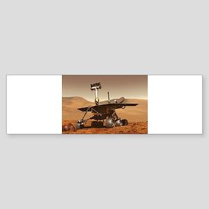 mars rover Sticker (Bumper)