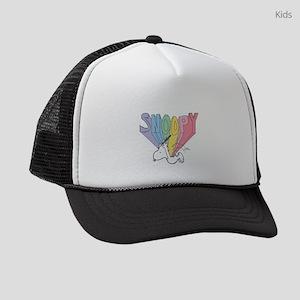 Snoopy Rainbow Kids Trucker hat