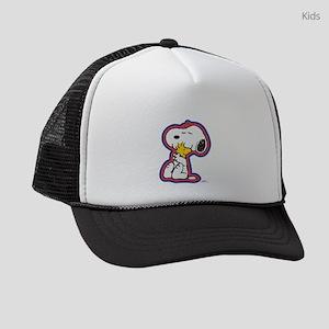 Peanuts Flair Woodstock and Snoop Kids Trucker hat