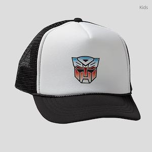 Transformers Autobot Symbol Dark Kids Trucker hat